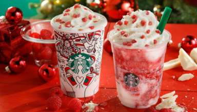Starbucks Holiday Frappuccino 2017 header